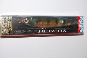 "yo zuri sashimi pencil fw r1087-cppc 5"" 1oz chameleon perch bass topwater"