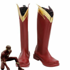 The Flash Season 4 Barry Allen Shoes Cosplay Men Boots