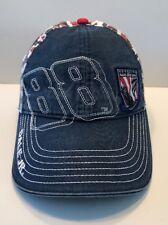 Nascar Dale Earhardt Jr 88 Cap Hat Adult Adjustable Vintage Honoring Our Soldier