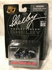 New ListingShelby Collectibles ~ Shelby Cobra 427 S/C ~ 1:64 ~ Blue ~ #98