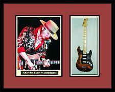 STEVIE RAY VAUGHAN Guitar Frame Shadowbox SRV