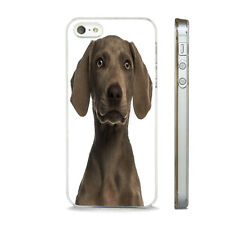 NEW WEIMARANER BREED DOG STUNNING PHONE CASE COVER FITS All APPLE IPHONE MODELS
