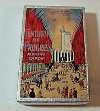 Century Of Progress Playing Cards Avenue of Flags