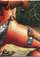 Breygent Red Sonja Robert Howard Puzzle Chase Card RS-P8