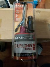 "Remington 3/4"" Style CURLING IRON Barrel 2 Heat Settings On/Off Light Attachment"