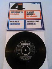 Il GRANDE 4 EP N. Nuovo di zecca!!! Dusty Springfield Walker BROTHERS QUATTRO STAGIONI PHILIPS