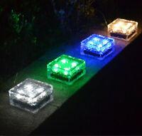 Solar Powered Outdoor LED Light Lantern Waterproof Garden Park Lawn Yard Lamp