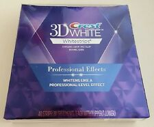 Crest 3D White Luxe Professional Effects Whitestrips 40 Strips 20 Pouches