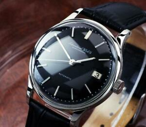 Excellent   IWC  Steel  Automatic  Black Dial   Cal 8541 Automatic / 34mm