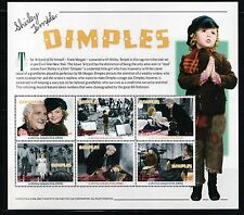 SELLOS TEMA CINE ST. VICENTE Y GRANADINAS SHIRLEY TEMPLE 2002 DIMPLES 6v. Mh.
