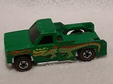 VINTAGE HOT WHEELS REDLINE BACKWOODS BOMB GREEN CAMPER TRUCK