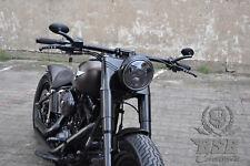 """LED SCHEINWERFER 7"""" mit Standlicht +CE Harley Fat BOY softail Street Glide SLIM"""