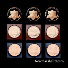 2018 2019 2020 P+D+S Lincoln Shield Proof Mint Set ~ Proofs & Mint Wrapped