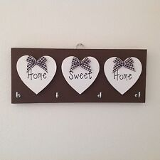 Key Holder Home Sweet Home plaque