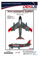 Decals Canadair Sabre - RCAF Sky Lancers Aerobatic Team Post 1956 1/144