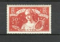 """FRANCE STAMP TIMBRE N° 308 """" ART ET PENSEE 50c+2F 1935 """" NEUF xx LUXE"""