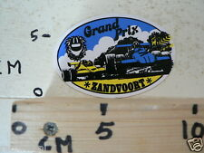STICKER,DECAL GRAND PRIX ZANDVOORT FORMULA ONE, F1 B