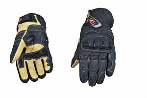 PB Dell Gants Moto Cuir Knox Sps Protection Moto Racing SPORTS