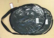 NEW Job Lot of 2 Premier Lunging Line Cushion Web 12 MTR Brass Snaphook BLACK