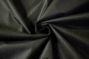"""BLACK  36"""" wide - Upholstery Base Cloth / Corovin / Dipryl / Lining Fabric"""