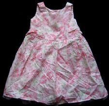 NEXT Mädchenkleid Babykleid Gr. 9-12 Monate Rosa und weiß gemustert