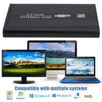 2.5'' SATA Hard Disk Case USB3.0 8T Solid External HDD Enclosure for Laptop PC