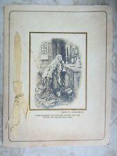 More details for vintage edwardian christmas card-raphael tuck & sons-queen margaret of scotland