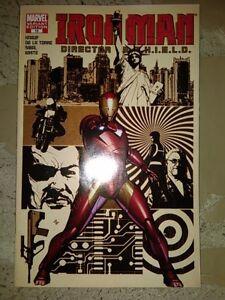 Iron Man Director Of SHIELD 15 Variant Marvel Comics NM Steranko Knauf Sibal OSS