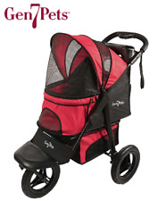 Gen7Pets G7 Pathfinder Red Jogger Stroller For Pets Up to 75 lbs Free Ship