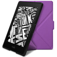 ROC® Smart Slim Wallet Flip Leather Origami Case Cover for Amazon Kindle Voyage
