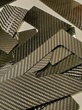 Carbon Fiber Scrap Sheets Assorted Sizes Cut Offs For RC Hobby Projects