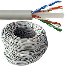 100M CAT6 Ethernet Solid Pure Copper Cable Reel Drum - Gigabit UTP Network RJ45