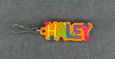 HALEY Zipper Pull + Pocketbook Purse Charm + Backpack Clip + Stocking Stuffer