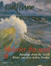 Karl Erik Harr: Malerier fra nord - Paintings From The North HB 1991 Norway W2T
