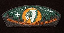 BOY SCOUT  OWASIPPE SCOUT RES  1999  CHICAGO AREA COUNCIL ILL