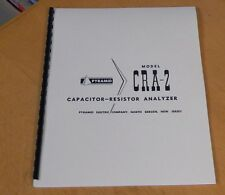 MANUAL for Pyramid CRA-2 Capacitor Resistor Analyzer new remastered CRA2
