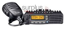 ICOM MOBILE 50W VHF 136-174MHz 128CH F5121D IDAS DIGITAL ANALOG POLICE RACE HAM
