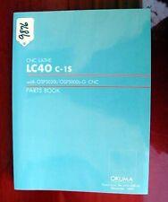 Okuma Lc40 C1S Cnc Lathe Parts Book: Le15-008-R3 (Inv.9876)