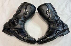 SIDI B2 GORE-TEX Waterproof Men's Motorcycle Motorbike Boots Size UK 9.5 / EU 44