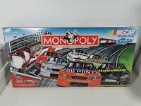 Monopoly Nascar Collector's Edition board game NEW & SEALED 2002 Collectible
