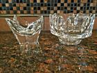 2 Orrefors Crystal Candy Dish or bowls Signed/numbered