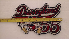 RARE MICKEY MOUSE DISNEYLAND DISNEY CLOTH PATCH JACKET 55 ANIVERSARY