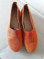 Caprice Leather Shoes BN Size 6½ Orange