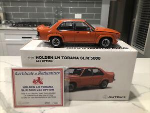 1974 1:18 LH Torana SL/R5000 L34 Option Saffron AUTOart Biante Holden