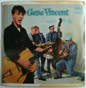 "GENE VINCENT   7""  EP   Red Blue Jeans and a Pony Tail    NL.Press.  Rockabilly"