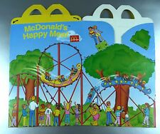 ANCIENNE BOITE HAPPY MEAL McDONALD'S / VINTAGE TOY BOX / PARC D'ATTRACTION 1