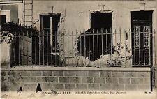 CPA MILITAIRE Guerre-Meaux Effet d'un Obus, Rue Pharon (316690)