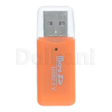 Portable USB 2.0 Adapter Micro SD Memory Card Reader/Writer Universal Devices