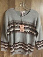 Women Oliver by Escio Gray Sweater Size Small New