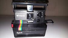 Retro Vintage Rainbow Stripe Polaroid Spirit Instant Film Camera